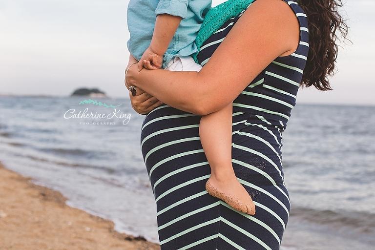 madison ct maternity session